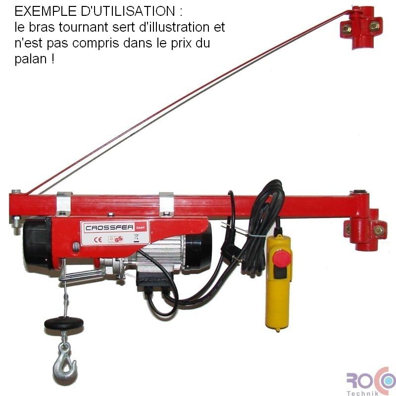 Nouvel PALAN 990 TREUIL ELECTRIQUE 220V 495 à 990 kg MA-25
